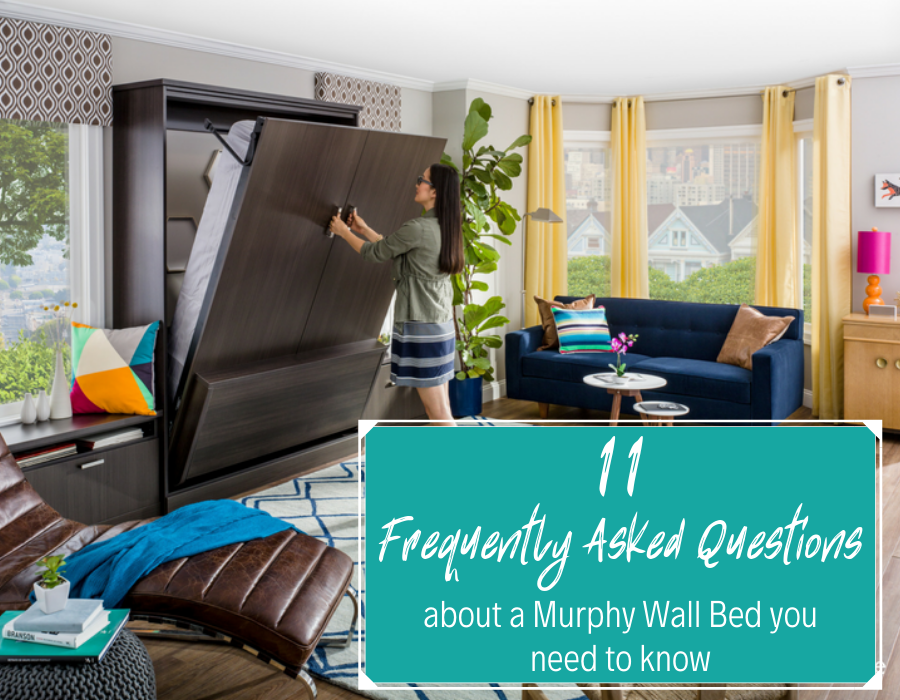FAQ about Murphy Wall Beds You need to Know | Innovate Home Org | #MurphyBed #WallBed #pulldownbed
