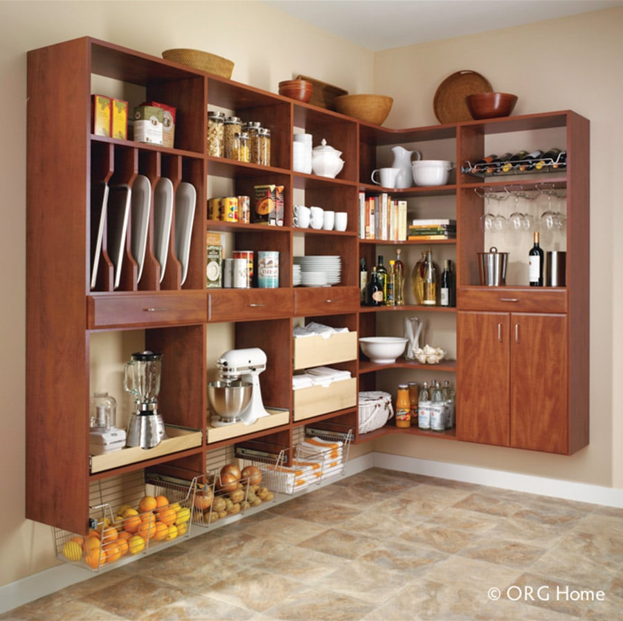 laminate shelving systems in columbus ohio | Innovate Home Org  | #PantryStorage #OrganizationStorage #Shelving