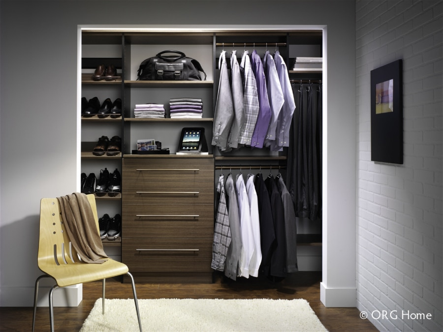 double hanging westerville ohio closet | Innovate Building Solutions | Innovate Home Org | #Reachincloset #closetstorage
