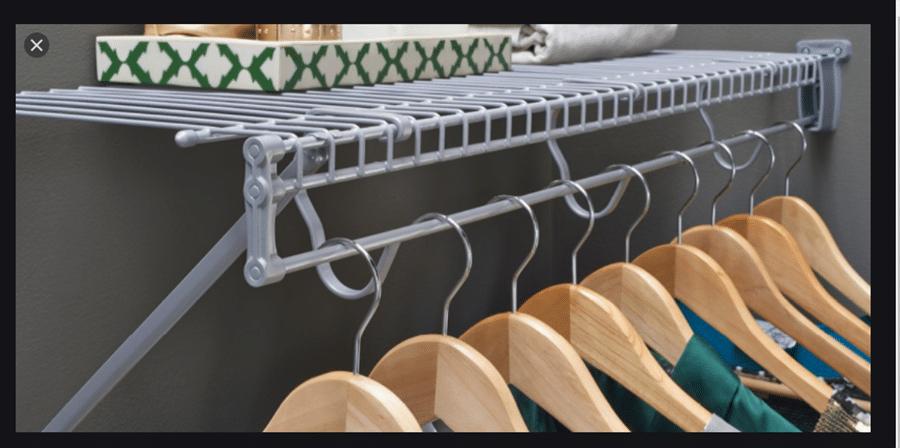 fixed wire closets credit www.closetmaid.com | Innovate Home Org | #FixedShelving #CheapCloset #ClosetOrganization