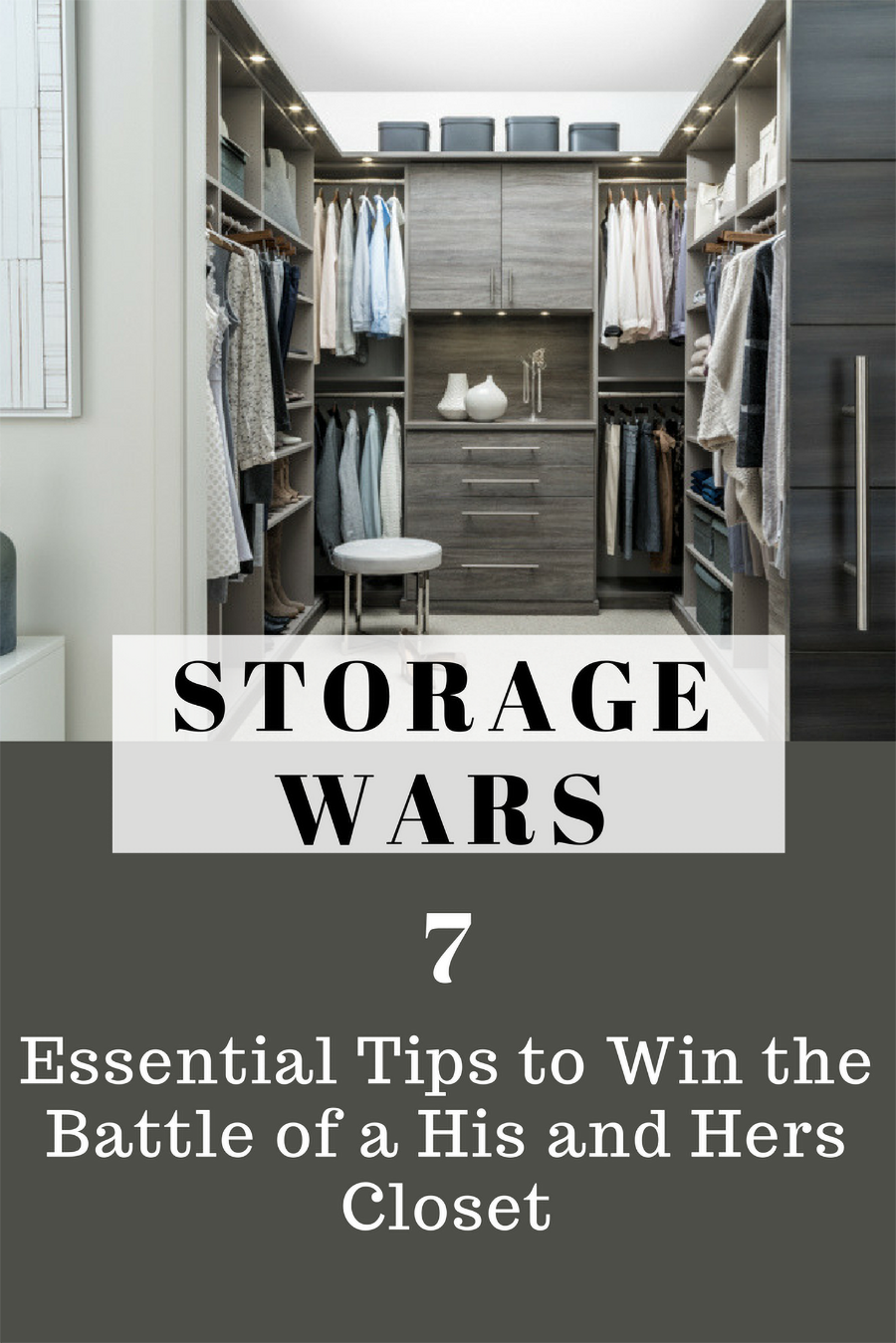 13 do separate your closet to stay together his and hers closet pickerington ohio | Innovate Home Org | #ClosetStorage #ClosetSystem #Organization