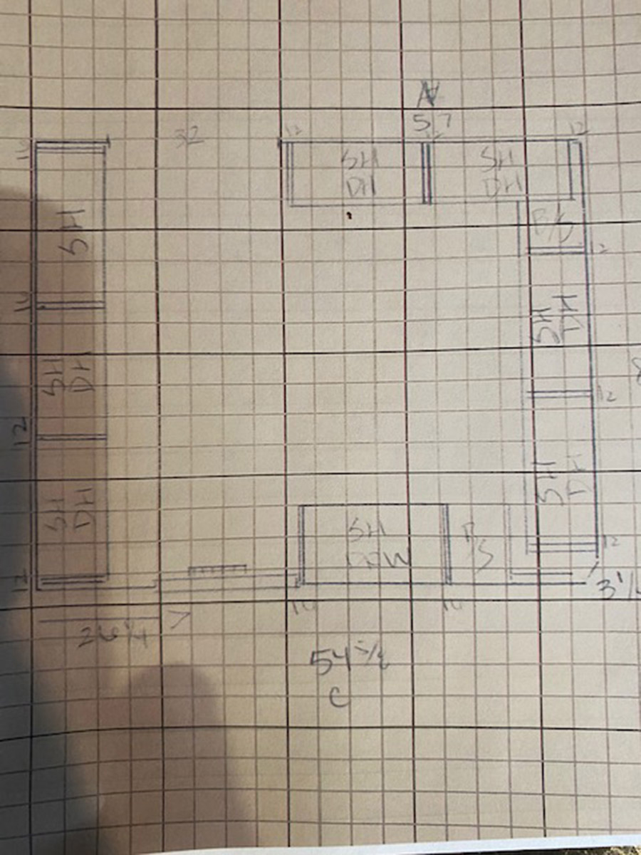 buy without 3D hand drawn closet sections | Innovate Home Org | #HandDrawn #ClosetSystem #Organization