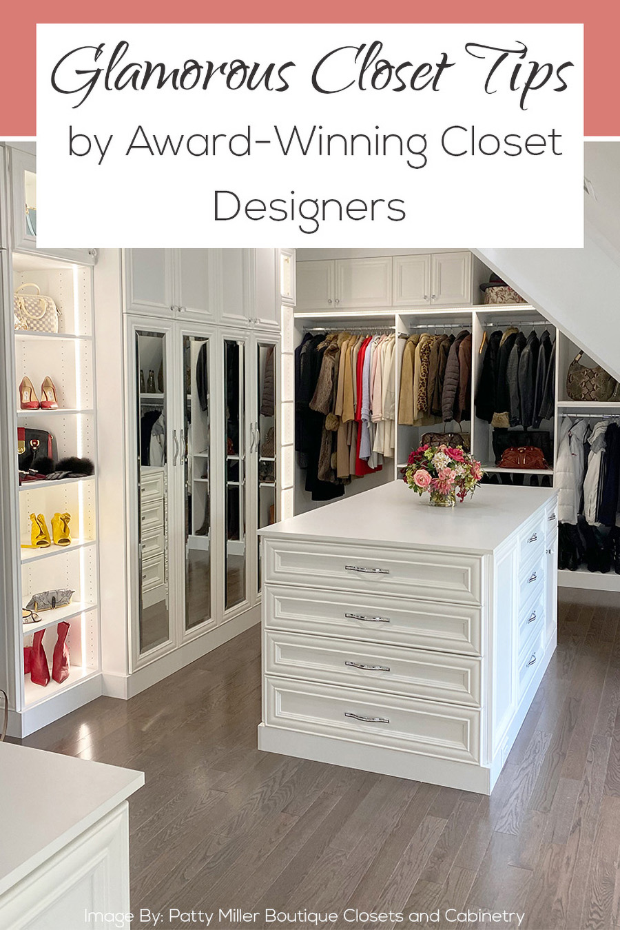 8 don't let pinterest delude you credit Patty Miller Boutique Closets and Cabinetry | Innovate Home Org | #CustomStorage #HomeOrganization #ClosetSystem
