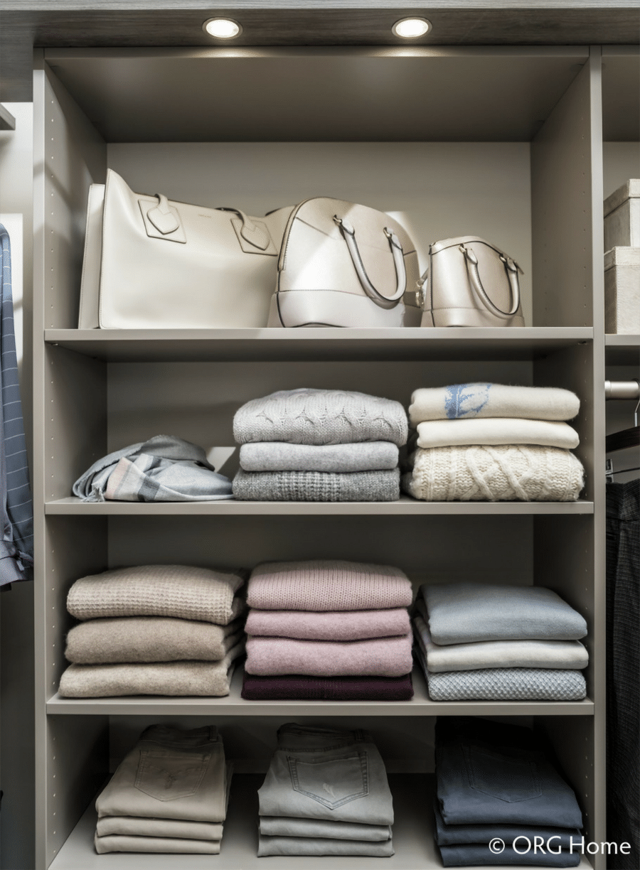 Feature 9 adjustable laminate custom closet shelving upper arlington ohio | Innovate Home Org #ClosetOrganization #StorageSolutions #ClosetShelving