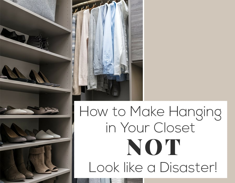 Opening How to make hanging in your closet not look like a disaster | Innovate Home Org #CustomStorage #Closet #OrganizationSystem
