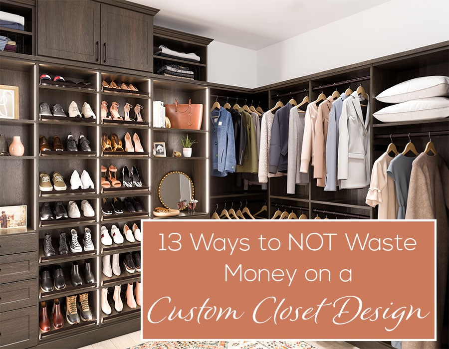 Opening - 13 Ways to NOT waste money on a custom closet design | Innovate Home Org #CustomCloset #Organization #StorageSystem