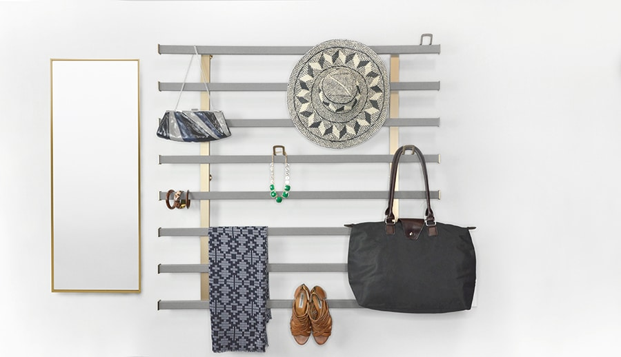 Strategy 13 luxury wall mounted hanging system for a shallow wall columbus | Innovate Home Org #StorageOrganization #CustomStorage #LuxuryCloset