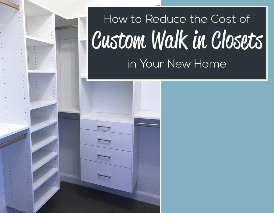 Opening How to reduce the cost of a walk in closet - Columbus ohio | Innovate Home Org #CustomCloset #Organization #WalkInCloset #DesignerCloset