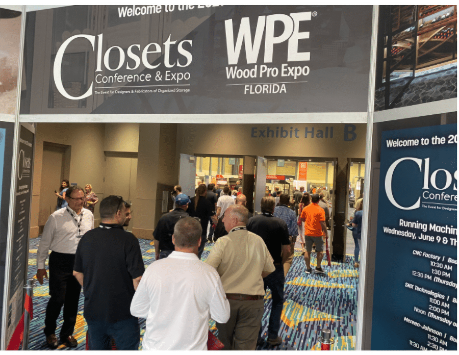 Opening section Closets Conference and Expo 2021 | Innovate Home Org #ClosetConference #ClosetCon #CustomerStorage #OrganizationTips