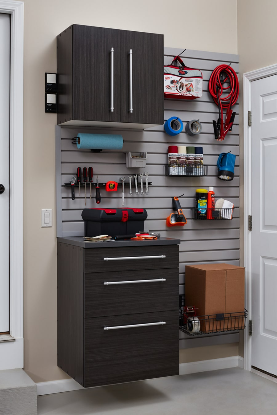 Question 5 lifetime warranty with garage cabinetry columbus by Innovate Home Org | Columbus, Ohio #Lifetime #Warranty #GarageStorage