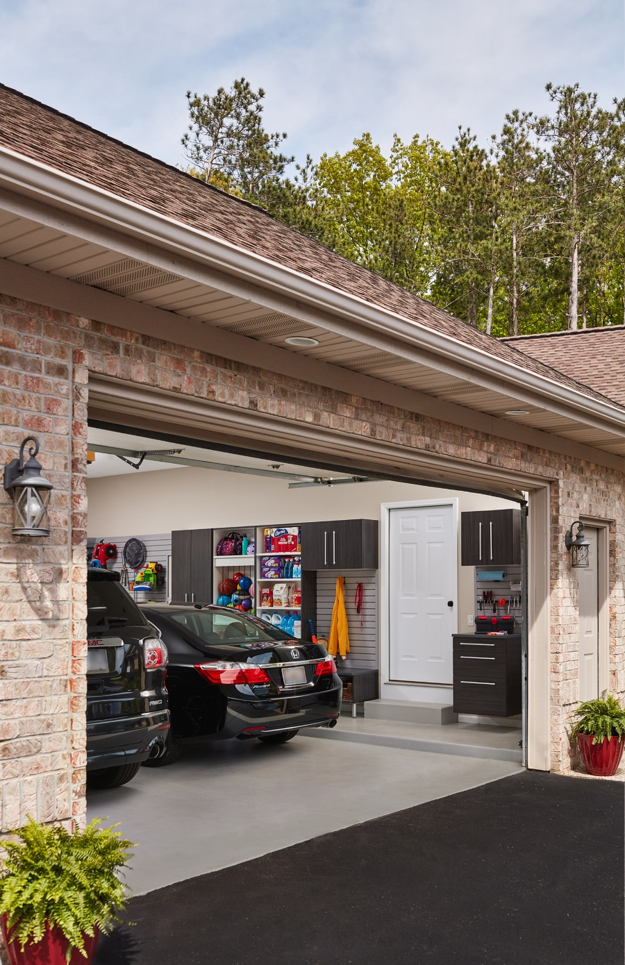 Question 9 curb appeal of garage cabinets Powell Ohio | Innovate Home Org #Garagecabinets #Garagestorage