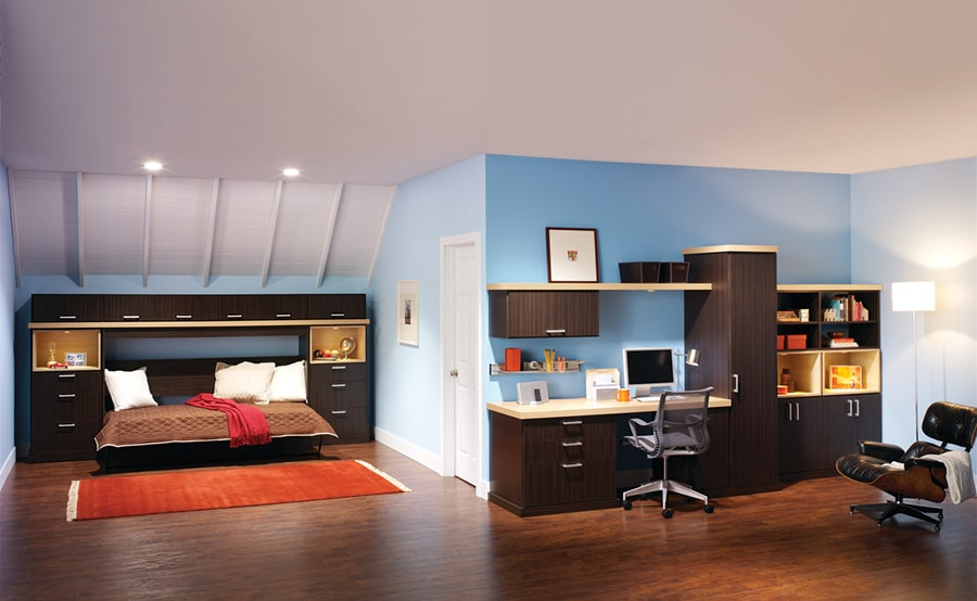 Opening Horizontal Murphy wall bed Columbus   Innovate Home Org #ColumbusApartments #downtowncolumbus #Murphybed